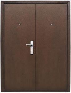 двойные двери стальные